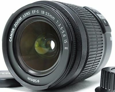 New Canon EF-S 18-55 mm f/3.5-5.6 IS II lens, shipping from Canada