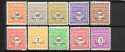 Francia Serie Complete Nuove     Lot 01035