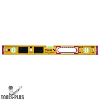 "Stabila 39324 196 Series 24"" Lighted Level with LED Lights New"