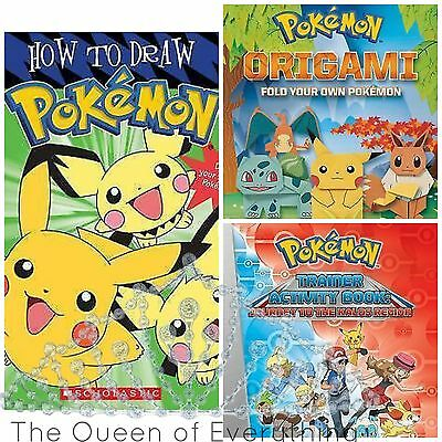 Pokemon Books 10 Different Titles-- U Choose!
