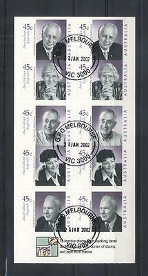 (936454) Famous Persons, Australia - cto/used -