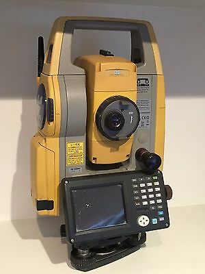 Used Topcon DS-103AC Total Station Direct Aiming System & Tesla Field Controller