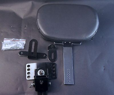 Driver Backrest Harley Davidson Touring models 1997 and up by Wisdom Motorcycle