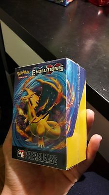Pokemon XY-Evolutions Prerelease Kit (New/Sealed/Limited) Charizard English