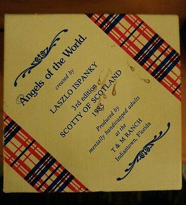 vintage angels of the world Scotty of Scotland 1985