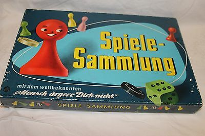 Spiele-Sammlung 7 games English rules. Pick up Sticks Chinese & Checkers Halma