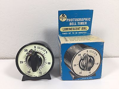 Mark Time Photographic Bell Timer Luminescent Dial