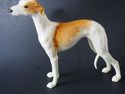 "Hutschenreuther Rosenthal Whippet Greyhound 6.5"" Dog Figure G Granget Perfect FC"