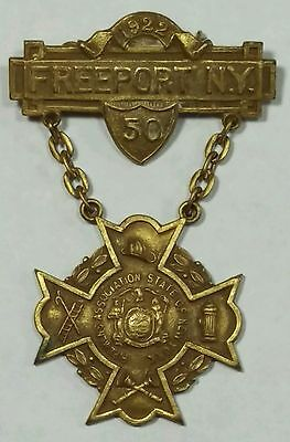 1922 FASNY Convention Medal