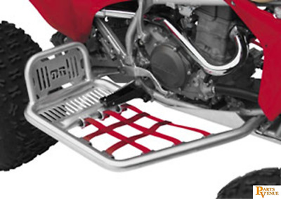 Dg Performance Fat Nerf Bars Silver/red Honda Trx 400Ex 6022135 Nerfs Red D60221