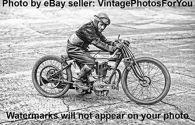 Antique/Old/Vintage 1925 British/English Norton Racing/Racer Motorcycle Photo