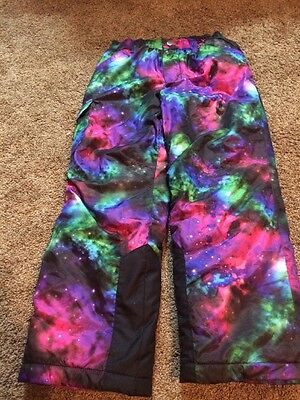 Mountain XPEDITION Girls SNOW PANTS --- Size M 7/8 INWOT