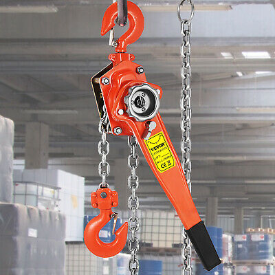 Brand New 1500kg 1.5T 6m Lever hoist chain  Comealong  Lever Block HQ