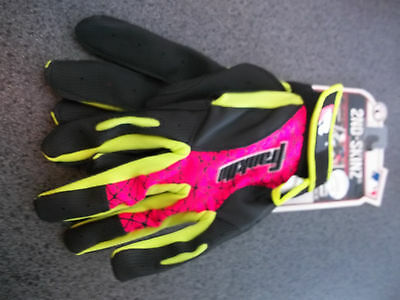 Franklin 2nd-Skinz Black Pink Green pair size Large New
