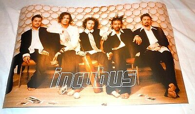 INCUBUS~Morning View~11x17~Original Promo Poster~Double Sided~Excellent Cond