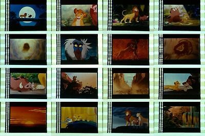 Rare * Various Walt Disney Movies * 50 Unmounted 35mm Film Cells  - See List