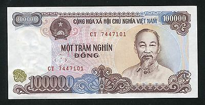 Vietnam banknote 1 x 100000 100,000 dong 1994 ND(2000) P117a UNC