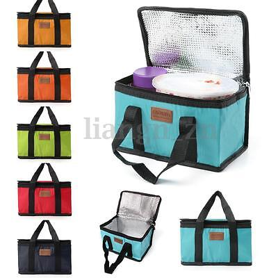 Waterproof Thermal Cooler Insulated Lunch Box Bag Carry Tote Picnic Camping AU