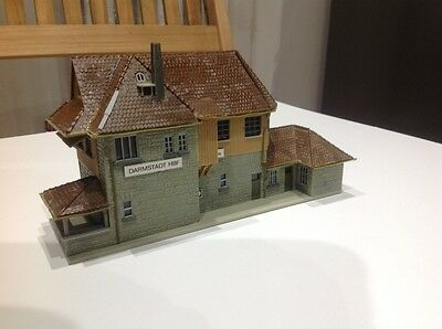 Faller 120116 HO Railway control tower built with Wooden cladding #NEW in ##