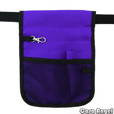 Nurse Vet  Physio Teacher Medical Professions Waist Belt Pouch Bag - Purple