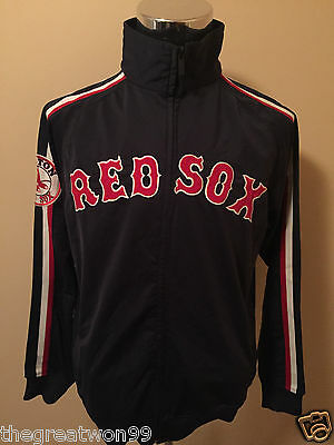 MLB Boston Red Sox MED Full Zip Track Jacket by Stitches