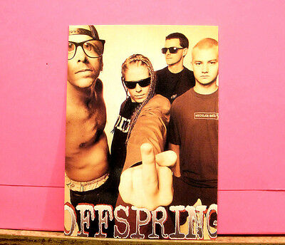 "Offspring Vintage Postcard Uk Import  ""finger"""