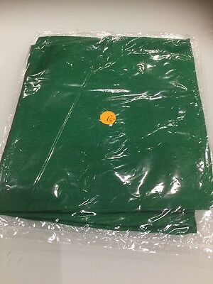 """New Sealed Magician Silk Approx 18"""" X 18"""" For Magic Tricks GREEN"""