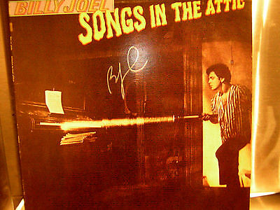 Billy Joel Signed Lp Songs In The Attic