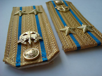 Russia Russian USSR Naval Shoulder Boards Straps Epaulets Officer Navy RARE СССР