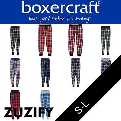 Boxercraft Youth Tailgate Flannel Joggers. YF60