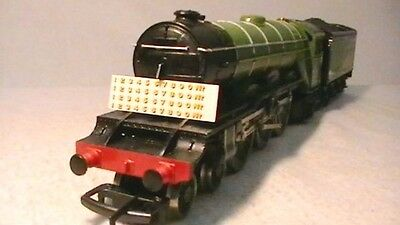 Triang Hornby Lima Ect Lner Buffer Numbers X4 Transfers Decal Yellow Gold / Red