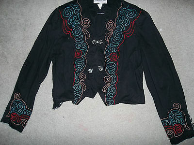 Panhandle Slim crop top Western wear embroidered shirt Halloween costume
