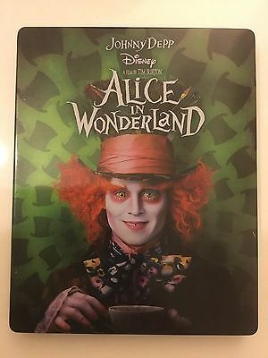 Alice In Wonderland - Steelbook (Blu-Ray 3D + 2D)