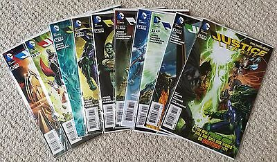Justice League #31-40, DC new 52 set, first prints