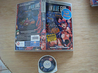 LA blue girl returns DEMON SEED UMD MOVIE FOR SONY PSP PLAYSTATION PORTABLE