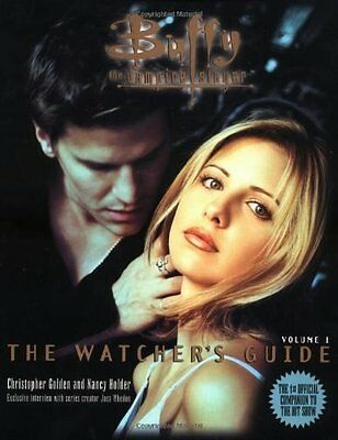 Buffy the Vampire Slayer The Watcher's Guide Official Companion Volume 1 Book