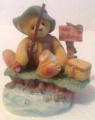 Cherished Teddies NORM Patience Is A Fisherman's Virtue