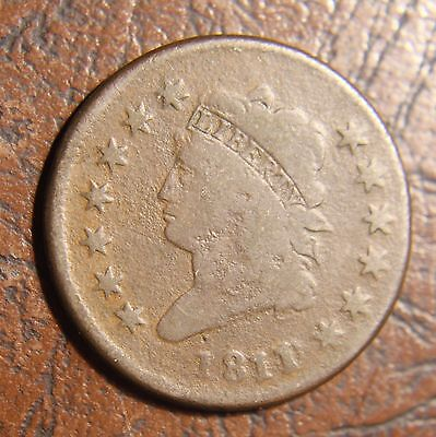 1811/0 Classic Head Large Cent, S-286