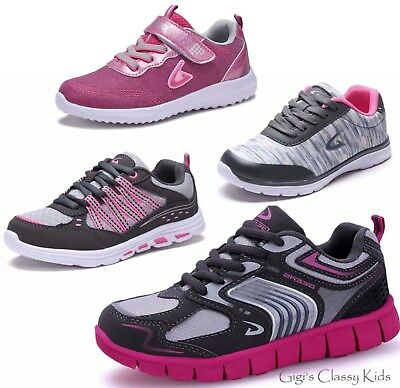 New Girls Tennis Shoes Athletic Running Sneakers Glitter Toddlers Youth Kids