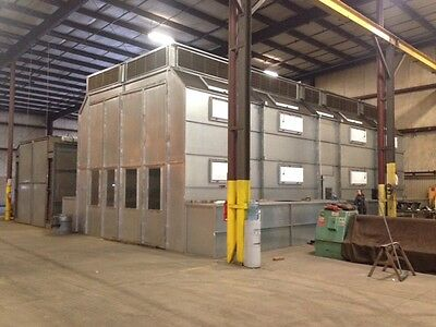 Commercial Industrial Paint Booth