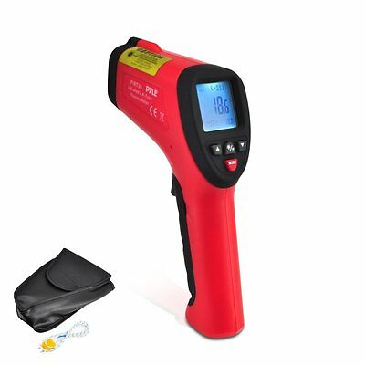 Pyle High Temperature Infrared Thermometer with Type K Input