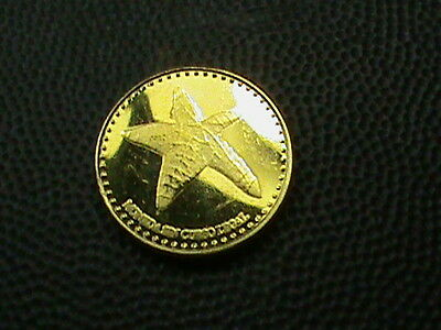 SAN  ANDRES  -  COLOMBIA    1 centavo    2015    PROOF    ,   STARFISH