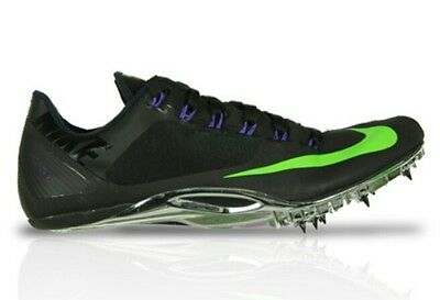 Nike Zoom Superfly R4 Track Spikes Men's US 6.5 Black Green 526626-035 NEW $120