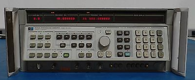 Agilent 8340A Synthesized Sweeper 10MHz-26.5GHz options 005/006/007