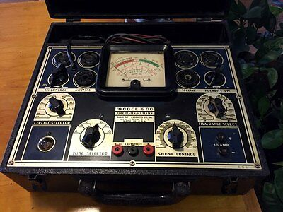 Radio City Products Co. tube tester model 800 RCP - powers on and works Hickok