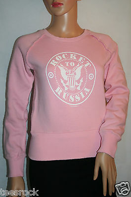 Ramones Rocket to Russia Distressed Sweater in size XS