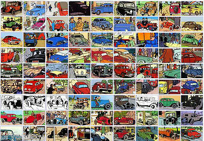 ATLAS Tintin Cars # 36 to 70 - BUY INDIVIDUALLY Herge 1/43 Model Voiture