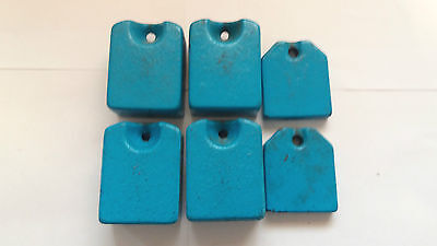 Toyota Heavy Knitting Machine Parts Accessories Set 6 Holed Hanging Weights 7Lbs