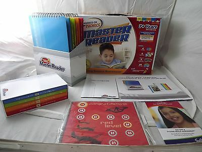 New Open Box HOOKED ON PHONICS Master Reader Program 2nd to 6th Grade - Ages 7+