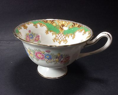 Shelley Sheraton Green 13290 Tea Cup